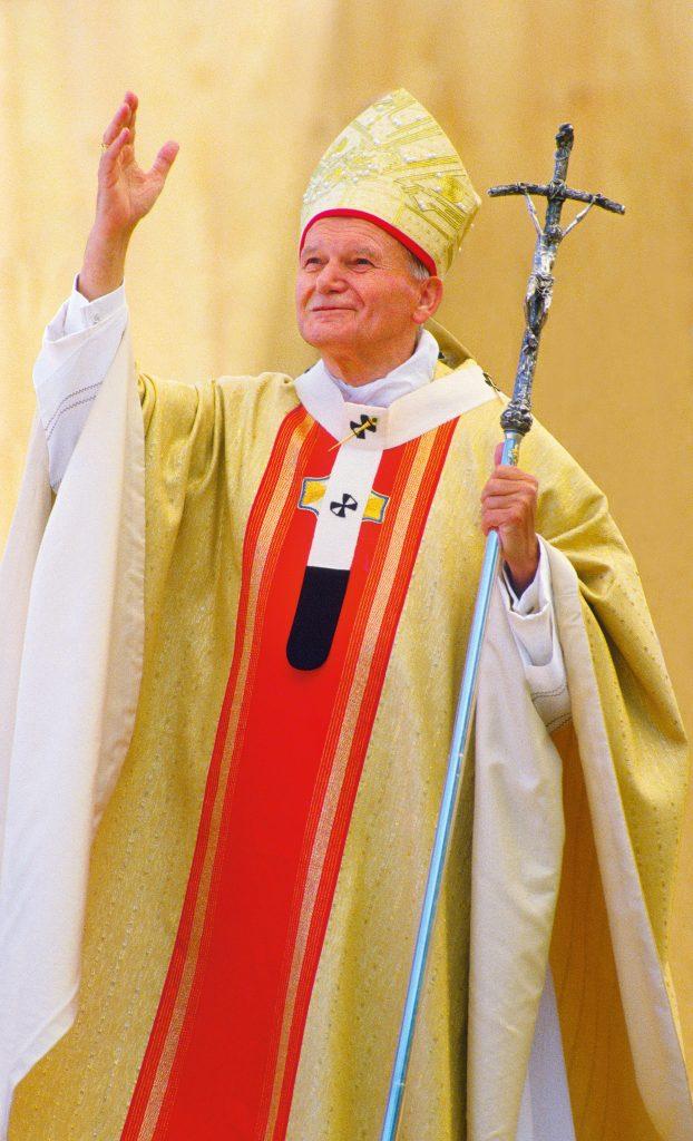 """Pope John Paul II """"Pope John Paul II (Karol Wojtyla) celebrating the Holy Mass. Innsbruck, Austria. June 1988 (Photo by Grzegorz GalazkaArchivio Grzegorz GalazkaMondadori Portfolio via Getty Images)"""" 2149332"""